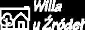 Willa u Źródeł logo białe